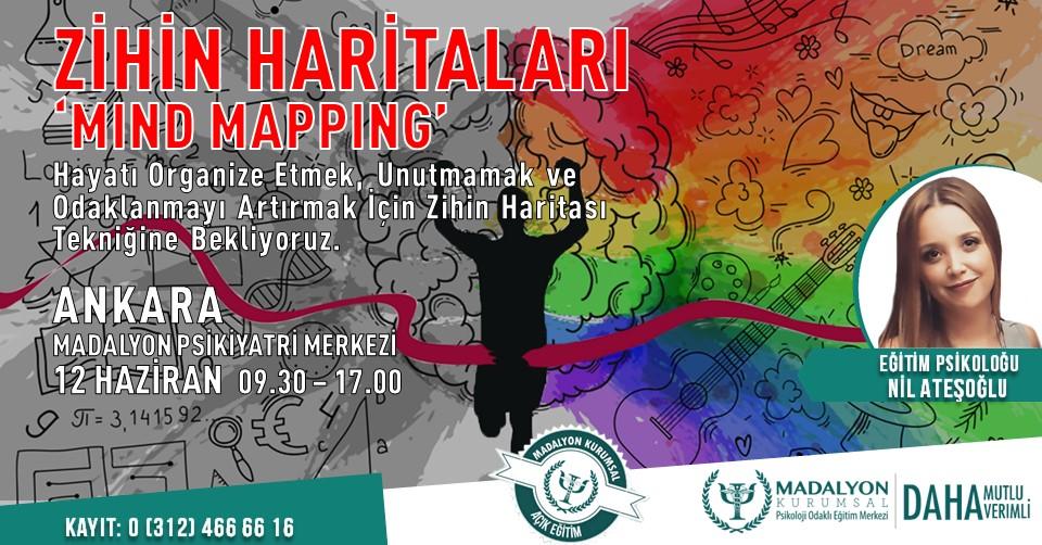 "Zihin Haritaları ""Mind Mapping"" Ankara"