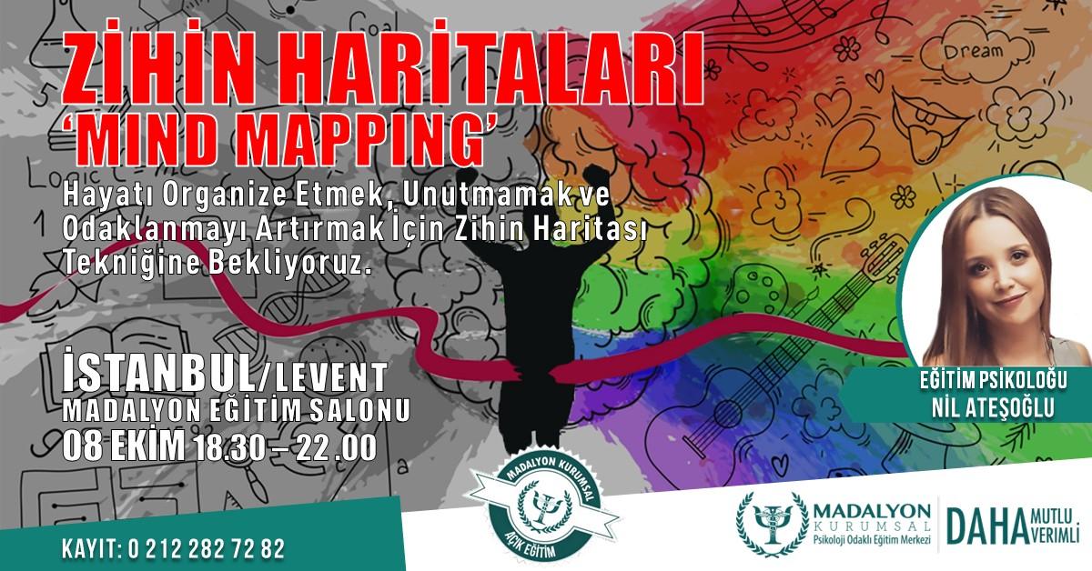 """Zihin Haritaları """"Mind Mapping"""" İSTANBUL"""