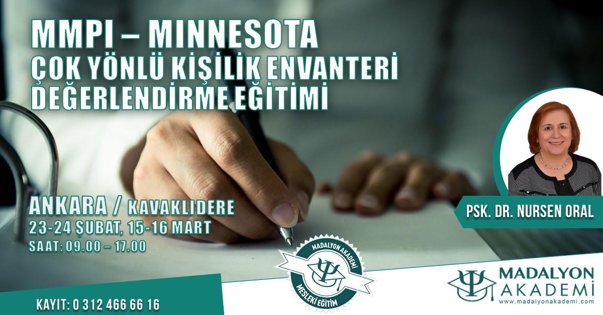 MMPI- Minnesota Çok Yönlü Kişilik Envanteri Değerlendirme Eğitimi