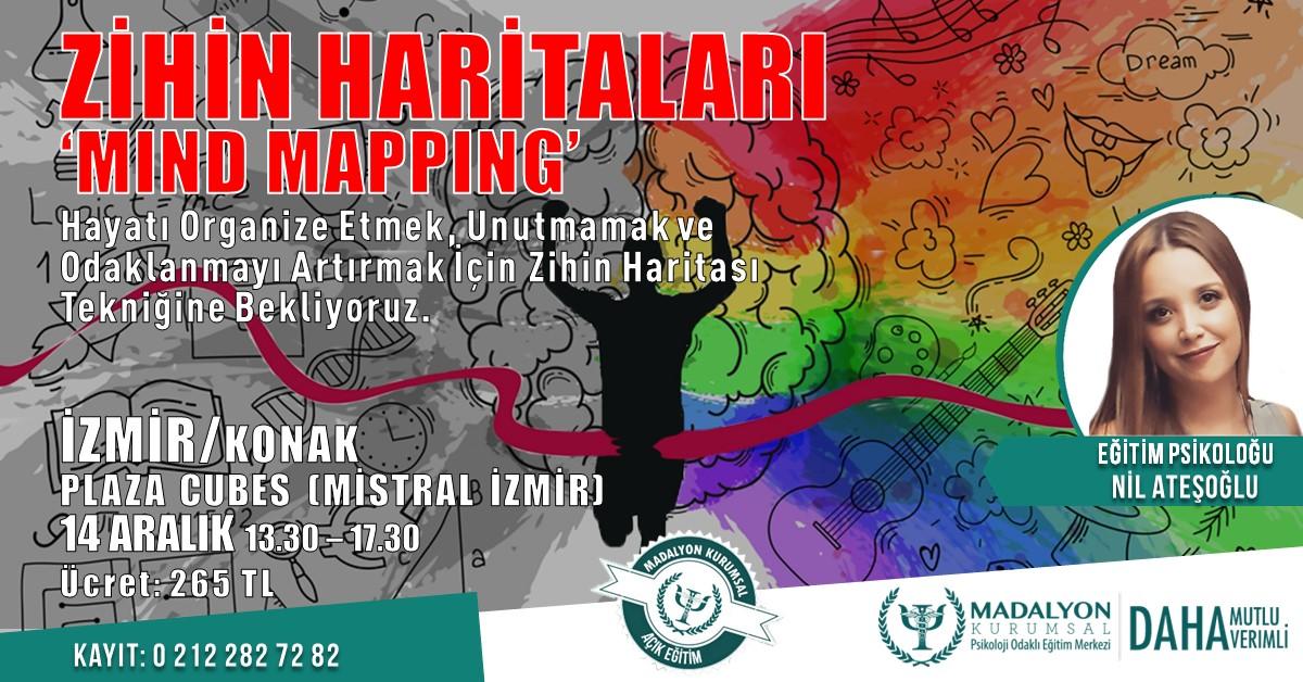 """Zihin Haritaları """"Mind Mapping"""" İZMİR"""