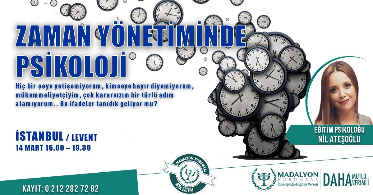 Zaman Yönetiminde Psikoloji - İSTANBUL