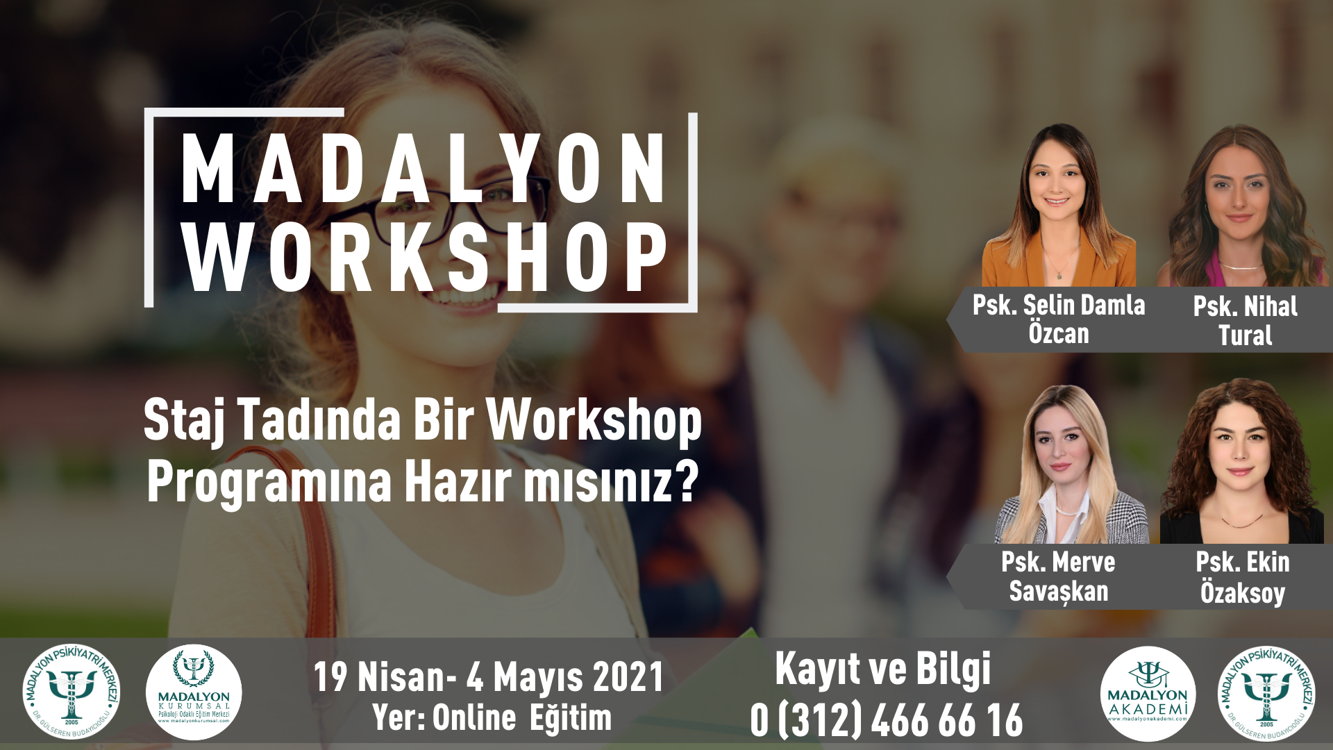 Madalyon Workshop 2. Oturum