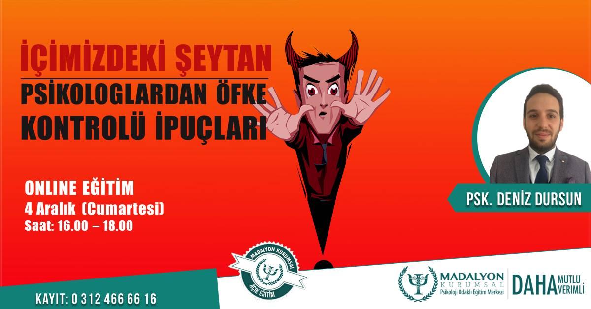 İçimizdeki Şeytan Psikologlardan Öfke Kontrolü İpuçları